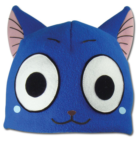 Fairy Tail - Happy Fleece Hat, an officially licensed product in our Fairy Tail Hats, Caps & Beanies department.