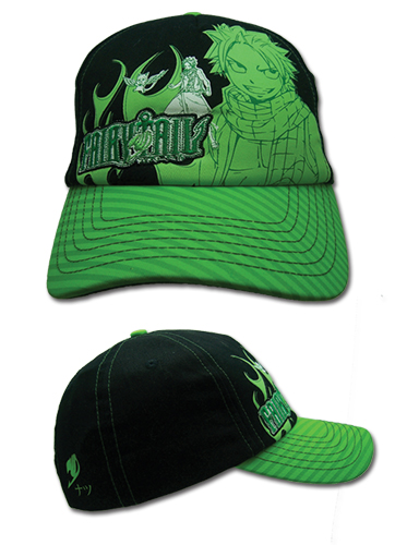 Fairy Tail - Natsu Green Cap, an officially licensed product in our Fairy Tail Hats, Caps & Beanies department.