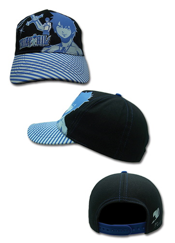Fairy Tail - Gray Blue Cap, an officially licensed Fairy Tail Cap