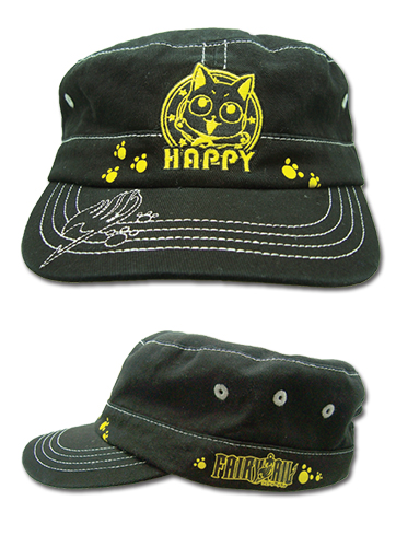 Fairy Tail - Yellow Happy Cadet, an officially licensed product in our Fairy Tail Random Anime Items department.