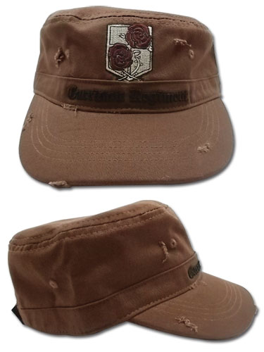 Attack On Titan - Stationary Guard Cadet Cap, an officially licensed Attack On Titan product at B.A. Toys.