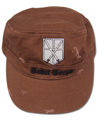 Attack On Titan - Trainees Squad Cadet Cap officially licensed product at B.A. Toys.