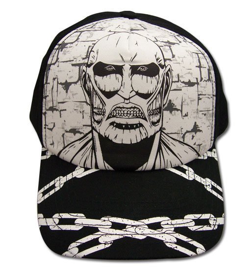 Attack On Titan - Titan Cap, an officially licensed Attack On Titan product at B.A. Toys.