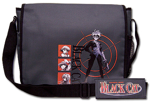 Black Cat Sharpshooter Messenger Bag officially licensed product at B.A. Toys.