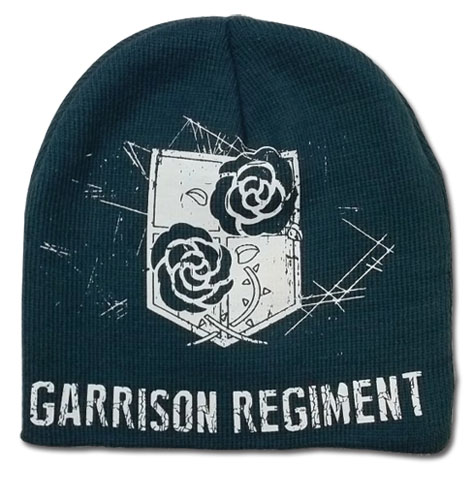 Attack On Titan - Garrison Regiment Unfold Beanie, an officially licensed product in our Attack On Titan Hats, Caps & Beanies department.