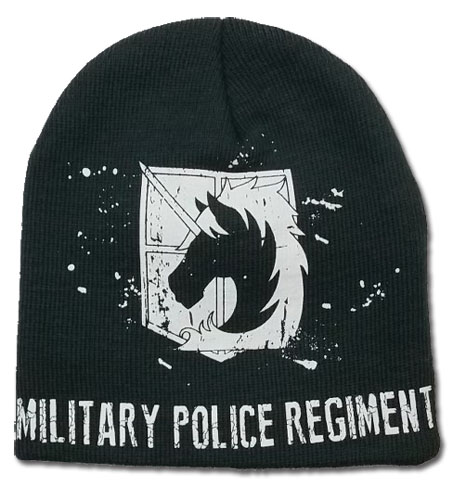 Attack On Titan - Military Police Unfold Beanie, an officially licensed product in our Attack On Titan Hats, Caps & Beanies department.