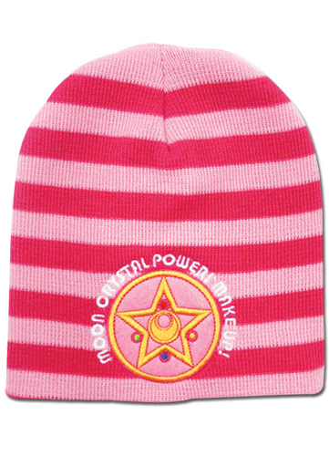 Sailor Moon - Moon Brooch Beanie, an officially licensed product in our Sailor Moon Hats, Caps & Beanies department.