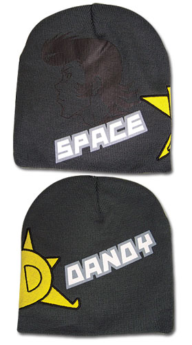 Space Dandy - D Star & Face Beanie, an officially licensed product in our Space Dandy Hats, Caps & Beanies department.