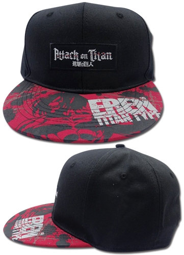 Attack On Titan - Eren Titan Type Fitted Cap, an officially licensed Attack On Titan product at B.A. Toys.