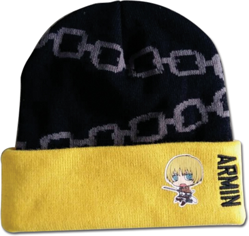 Attack On Titan - Armin Sd Beanie, an officially licensed product in our Attack On Titan Hats, Caps & Beanies department.