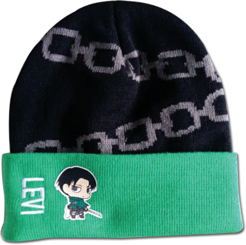 Attack On Titan - Levi Sd Beanie officially licensed Attack On Titan Hats, Caps & Beanies product at B.A. Toys.