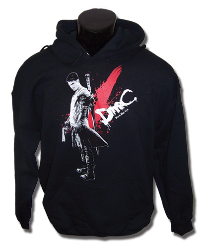 Devil May Cry Dante Hoodie Xxl, an officially licensed Devil May Cry product at B.A. Toys.