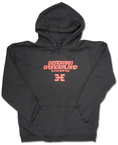 Deadman Wonderland Wonderland Emblem Hoodie M, an officially licensed Deadman Wonderland product at B.A. Toys.