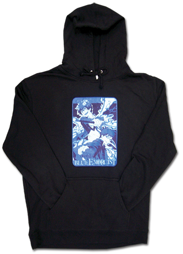 Blue Exorcist Rin & Yukio Hoodie S, an officially licensed Blue Exorcist product at B.A. Toys.