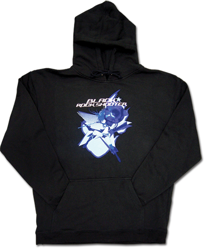 Black Rock Shooter Black Rock Shooter Hoodie L, an officially licensed Black Rock Shooter product at B.A. Toys.
