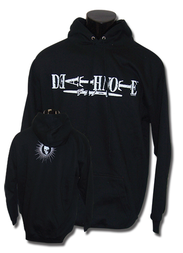 Death Note Logo Hoodie Xxl, an officially licensed Death Note product at B.A. Toys.