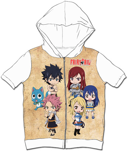 Fairy Tail - Sd Group Sublimation Hoodie M, an officially licensed product in our Fairy Tail Hoodies department.