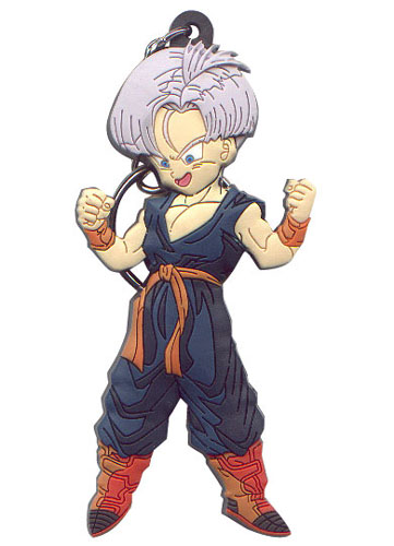 Dragon Ball Z - Trunks Pvc Key Chain, an officially licensed product in our Dragon Ball Z Key Chains department.