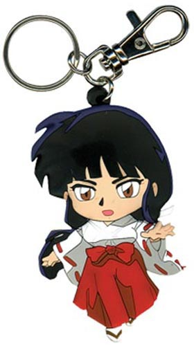 Inuyasha Kikyo Pvc Key Chain, an officially licensed product in our Inuyahsa Key Chains department.