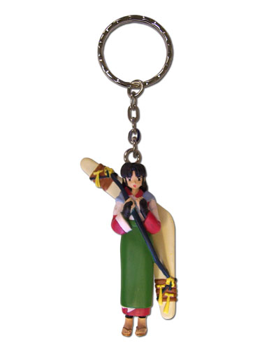 Inuyasha Sango In Kimono 3D Key Chain, an officially licensed product in our Inuyahsa Key Chains department.