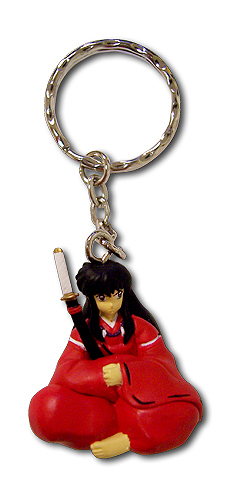 Inuyasha 3D Human Form Key Chain, an officially licensed product in our Inuyahsa Key Chains department.