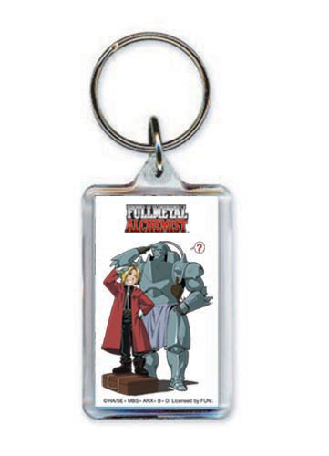 Fullmetal Alchemist Lucite Key Chain officially licensed product at B.A. Toys.