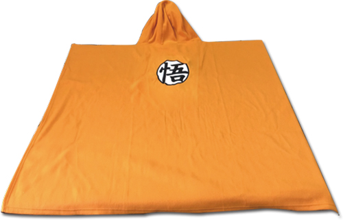 Dragon Ball Z - Goku Symbol Hoodie Blanket, an officially licensed product in our Dragon Ball Z Hoodies department.