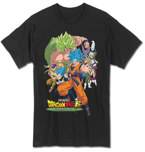 Dragon Ball Super Broly - Group Men's T-Shirt L, an officially licensed product in our Dragon Ball Super Broly T-Shirts department.