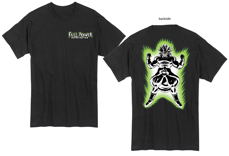 Dragon Ball Super Broly - Legendary Saiyan Front & Back Print T-Shirt L, an officially licensed product in our Dragon Ball Super Broly T-Shirts department.