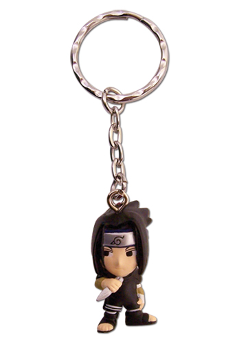 Naruto Sasuke 3D Sd Key Chain, an officially licensed product in our Naruto Key Chains department.