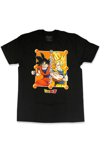 Dragon Ball Z - Goku Men's T-Shirt L officially licensed Dragon Ball Z T-Shirts product at B.A. Toys.