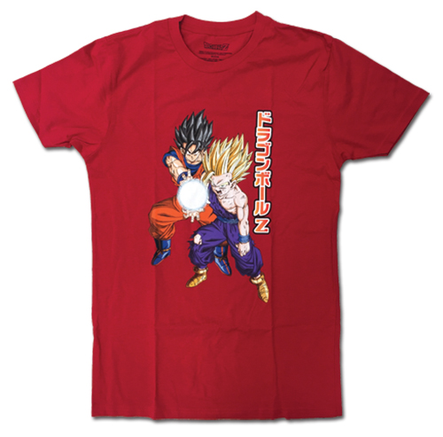 Dragon Ball Z - Kamehameha Men's T-Shirt L officially licensed Dragon Ball Z T-Shirts product at B.A. Toys.