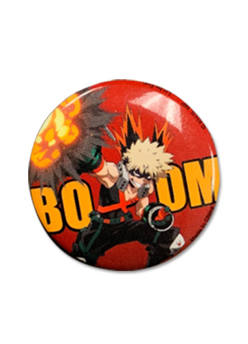 My Hero Academia - Bakugo Button 1.25'', an officially licensed product in our My Hero Academia Buttons department.