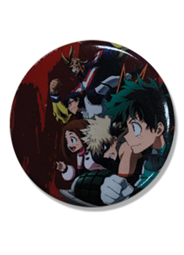 My Hero Academia - Group Button 1.25'' officially licensed My Hero Academia Buttons product at B.A. Toys.
