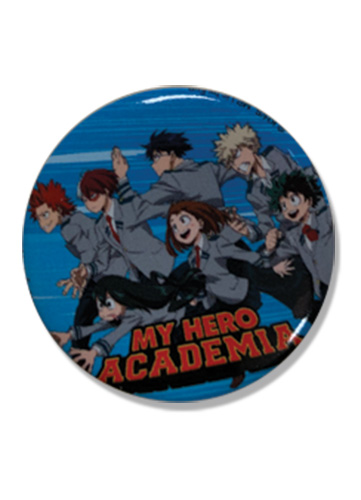 My Hero Academia - Group Button 1.25'', an officially licensed product in our My Hero Academia Buttons department.