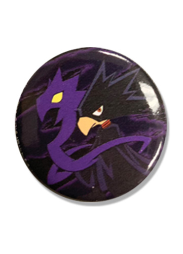 My Hero Academia - Tokoyami Button 1.25'', an officially licensed product in our My Hero Academia Buttons department.