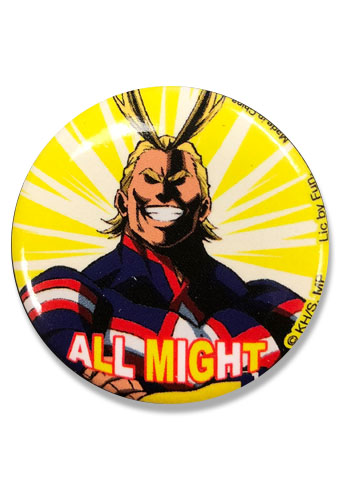 My Hero Academia S2 - All Might Button 1.25
