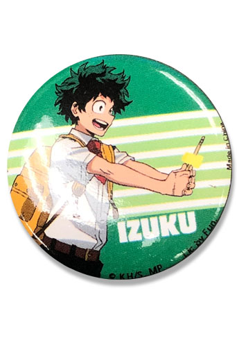 My Hero Academia S2 - Izuku Button 1., an officially licensed product in our My Hero Academia Buttons department.