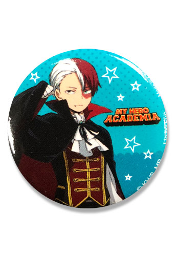 My Hero Academia S2 - Halloween Shoto Button 1.25'' officially licensed My Hero Academia Buttons product at B.A. Toys.