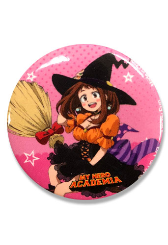 My Hero Academia S2 - Halloween Ochaco Button 1.25