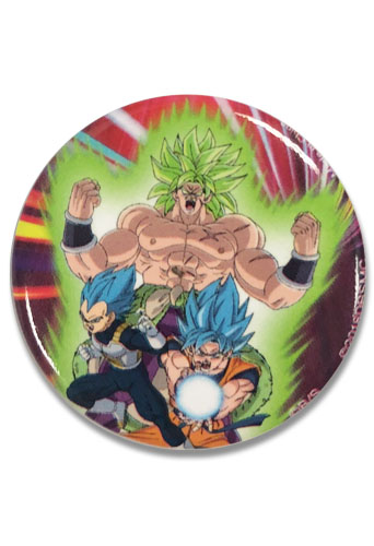 Dragon Ball Super Broly - Group Button 1.25'', an officially licensed product in our Dragon Ball Super Broly Buttons department.