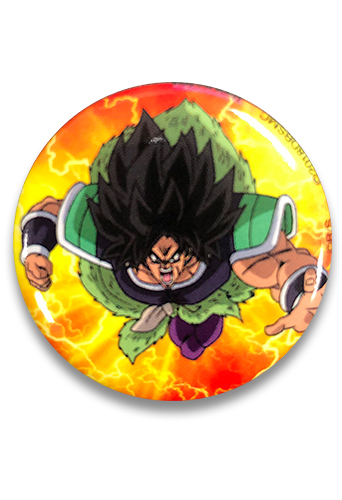 Dragon Ball Super Broly - Broly Button 1.25'', an officially licensed product in our Dragon Ball Super Broly Buttons department.