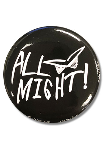 My Hero Academia - All Might Button 1.25