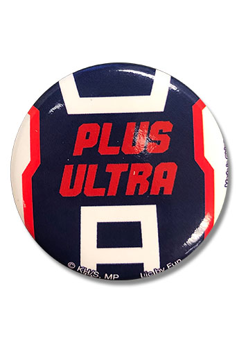 My Hero Academia - Plus Ultra Button 1.25
