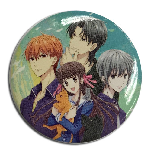 Fruits Basket 2019 - Group Button 1.25'', an officially licensed product in our Fruits Basket Buttons department.