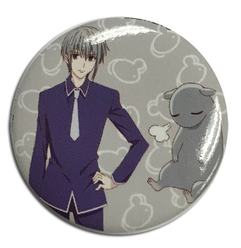 Fruits Basket 2019 - Yuki Button 1.25