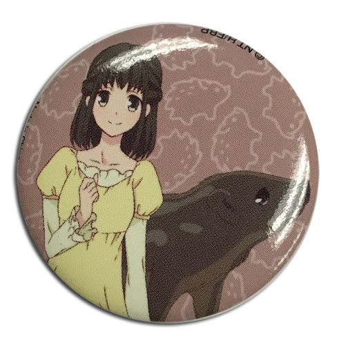 Fruits Basket 2019 - Kagura Button 1.25'', an officially licensed product in our Fruits Basket Buttons department.