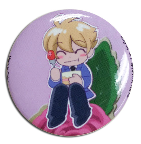 Ouran High School Host Club - Sd Honey Button 1.25'', an officially licensed product in our Ouran High School Host Club Buttons department.