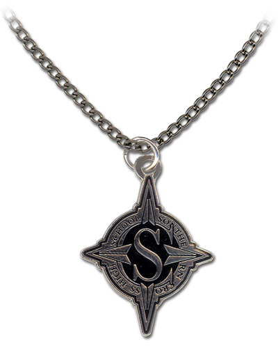 Star Driver School Emblem Necklace, an officially licensed product in our Star Driver Jewelry department.
