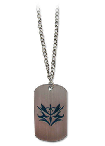 Fate/zero Kayneth Lancer Command Seal Dog Tag Necklace officially licensed Fate/Zero Jewelry product at B.A. Toys.